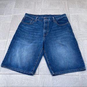 Levi's 569 size 34 Jean shorts denim